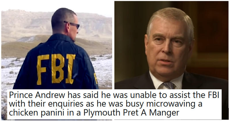 The only 7 reactions you need to Prince Andrew's failure to contact the FBI