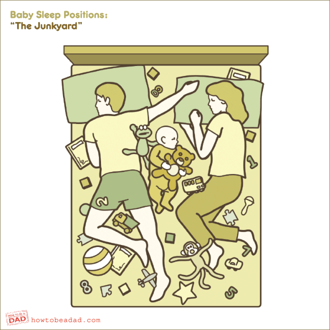 The Hilariously Relatable Guide To Babies Sleeping Positions The Poke