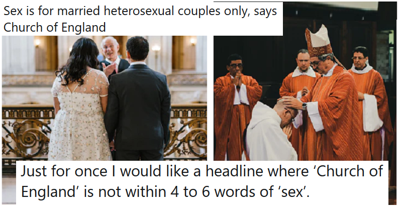 The Church of England is going on about sex again- our 14 favourite funny comments - the poke
