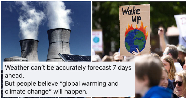 This climate change denier was taken down by their own logic – and it was glorious - the poke