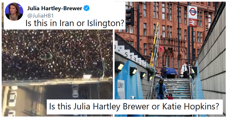 Julia Hartley-Brewer suggested Iran could be Islington – the only 5 clapbacks you need to read