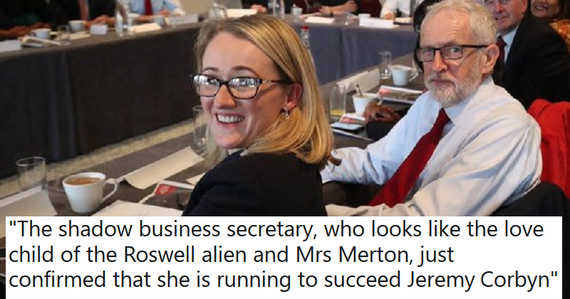 9 out-of-this-world clapbacks to the Telegraph columnist who said Rebecca Long-Bailey looks like an alien