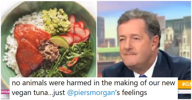 Wagamama got Piers Morgan riled over their vegan tuna all over again