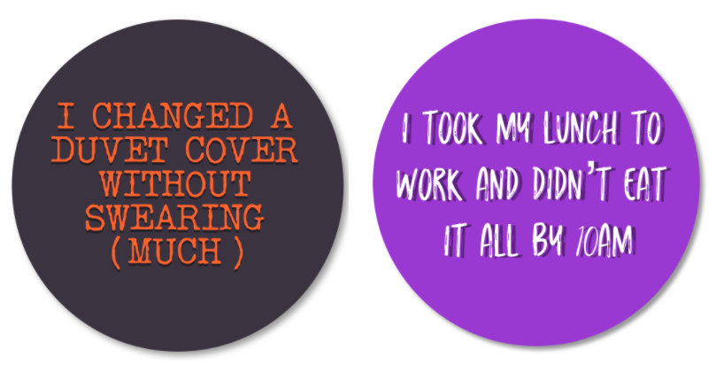 Reward Stickers for Adults – because we're worth it