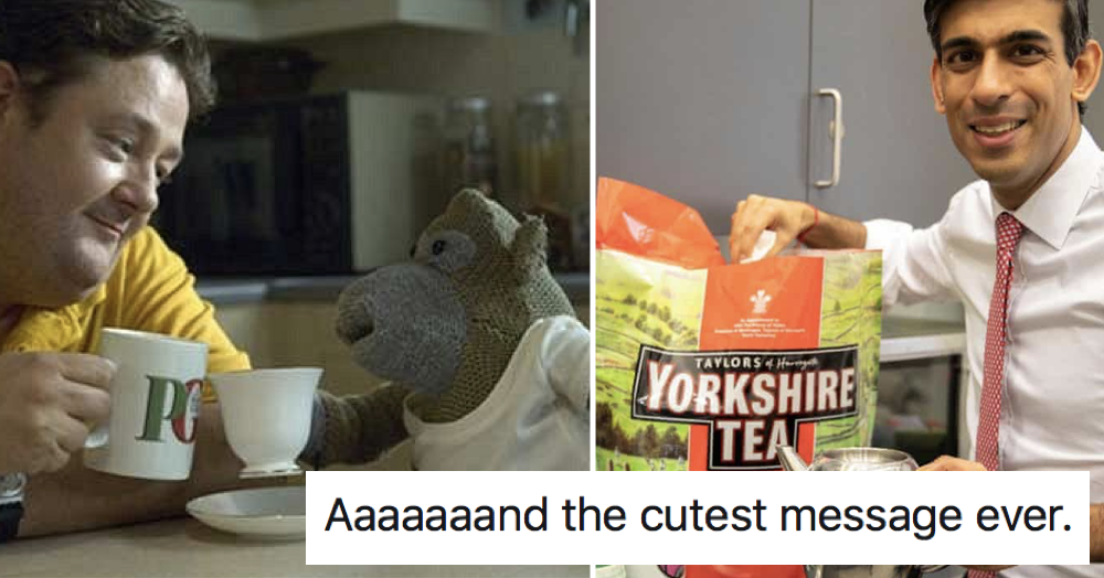 PG Tips reached out to Yorkshire Tea and it gave people a warm feeling - the poke