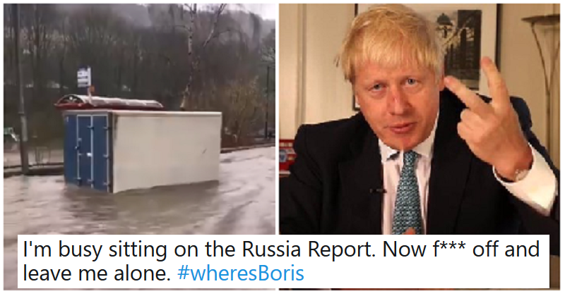 "The flood devastation had people asking ""Where's Boris?"" – our 9 favourite responses - the poke"