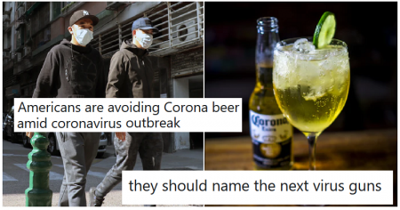 Americans are avoiding Corona beer because of the coronavirus and it explains so much