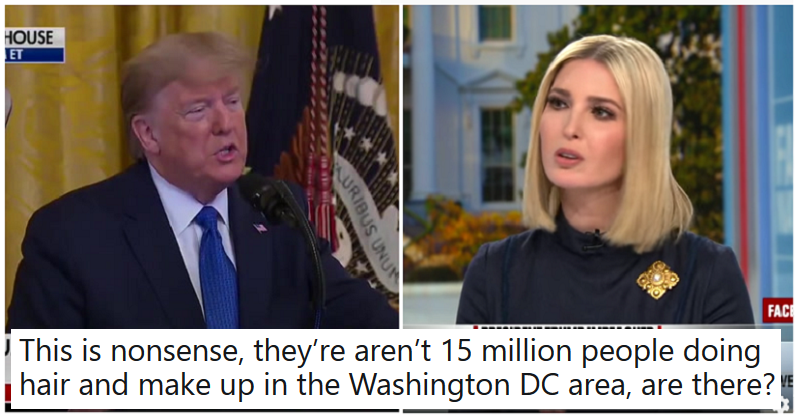 Trump claimed Ivanka had created 15 million jobs – the only 5 stunning takedowns you need