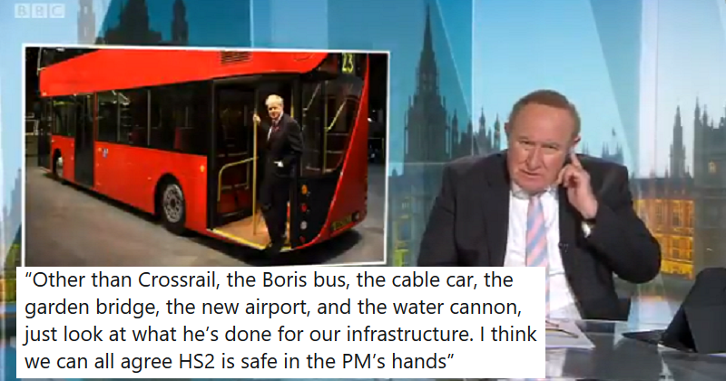 4 favourite reactions to Andrew Neil savaging the PM's failure to deliver projects