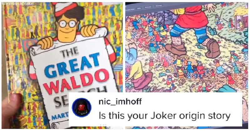 This prank with a Where's Wally book is a work of evil genius