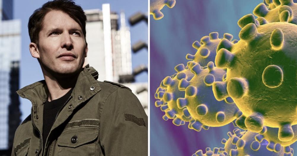 James Blunt's no-nonsense response to coronavirus got people smiling