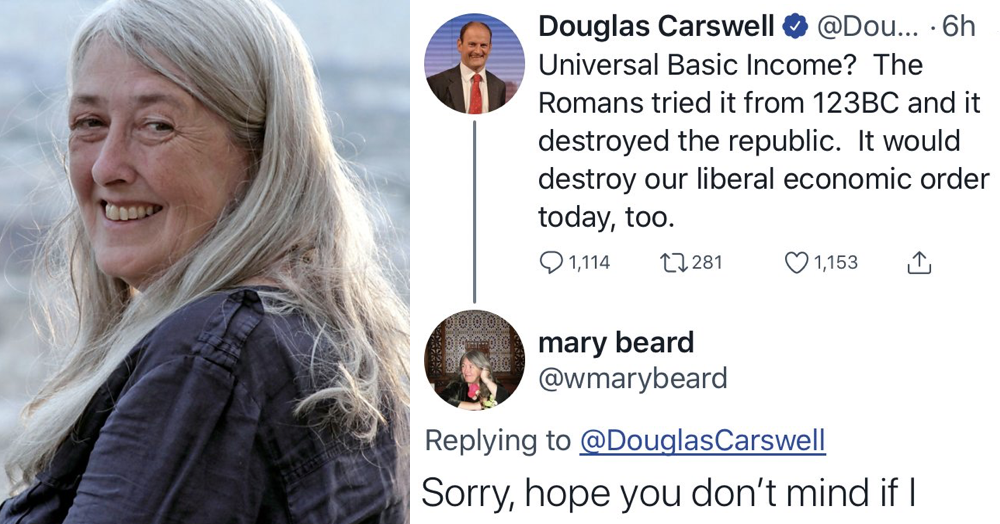 Mary Beard's takedown of UKIP's only ever MP was as polite as it was devastating - the poke