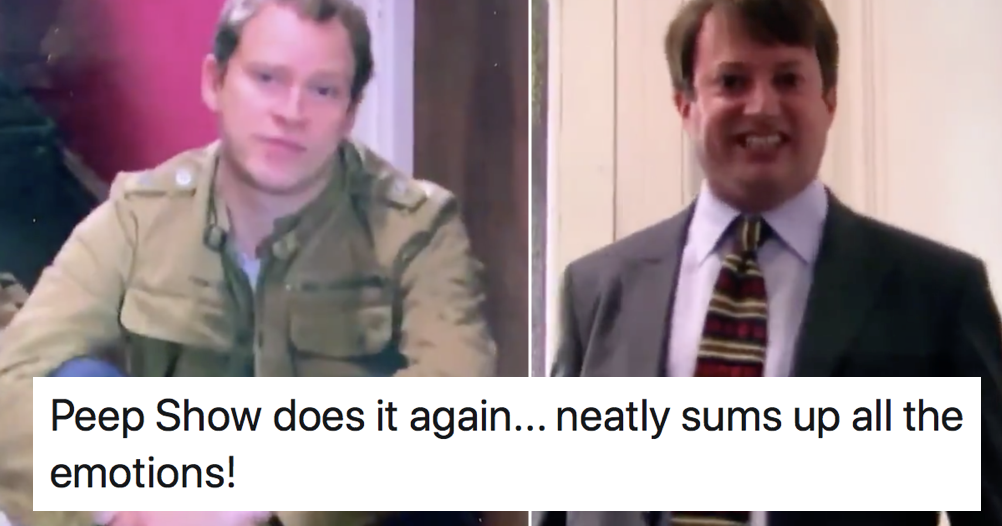 This old Peep Show clip went viral because it totally nails our lockdown feelings right now