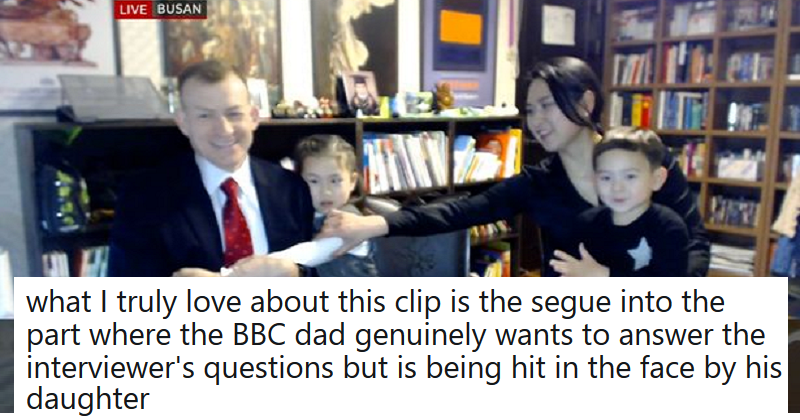BBC Dad and the kids who videobombed him were back on TV – and they're still full of mischief
