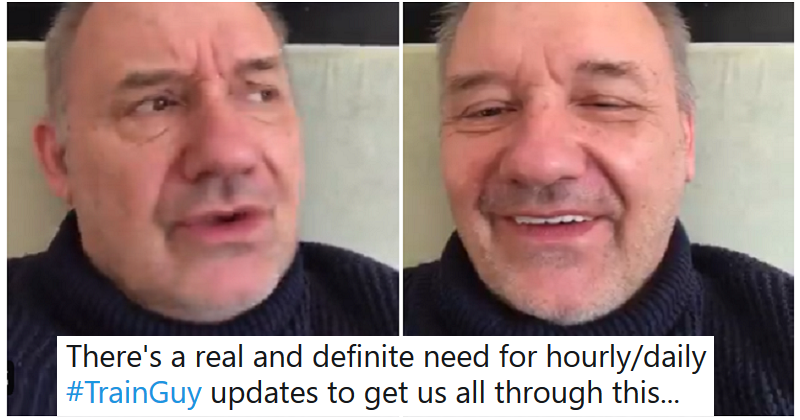 Bob Mortimer's new Train Guy sketch is another mini masterpiece