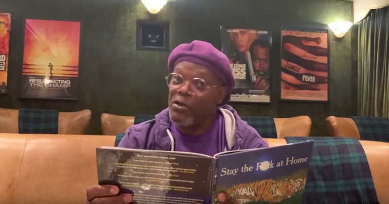 "Samuel L. Jackson reading ""Stay the F**k at Home"" is the best coronavirus PSA ever - the poke"