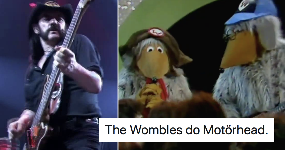 The Wombles doing Motörhead is exactly the content we needed right now - the poke