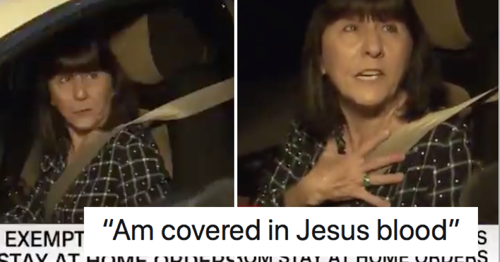 This American who insists on going to church despite coronavirus is frankly terrifying