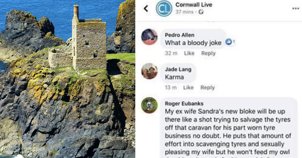 This exchange on Cornwall Live takes a screechingly unexpected turn - the poke