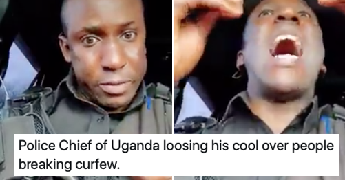 This police chief has a (very NSFW) message for anyone thinking of going out this weekend - the poke