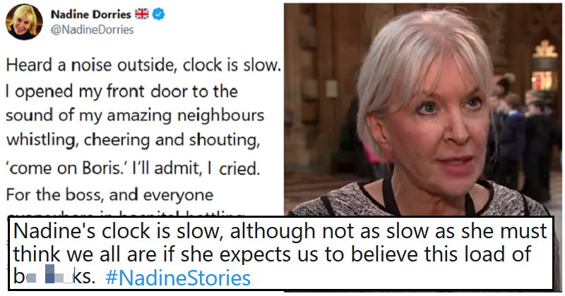 9 of the funniest 'Nadine stories' after a Tory MP was accused of exaggerating