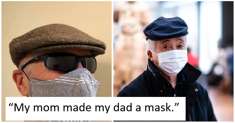 Homemade Anti-coronavirus Mask of the Week - the poke