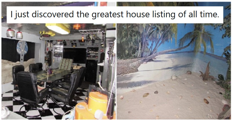The further into this house listing you go, the weirder it gets