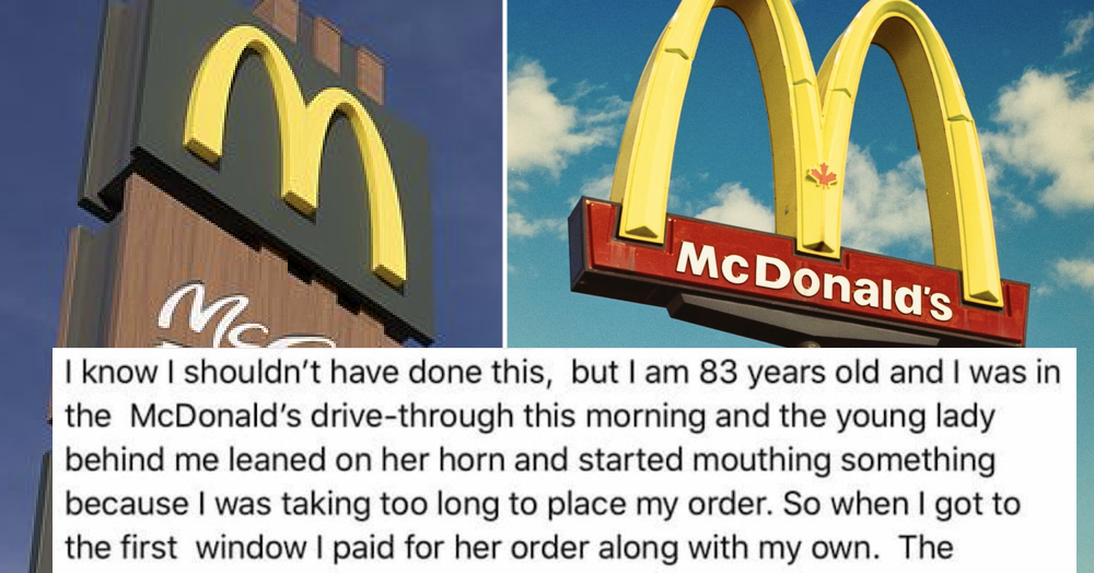 People love this woman's tale of revenge after someone was rude at a McDonald's drive thru