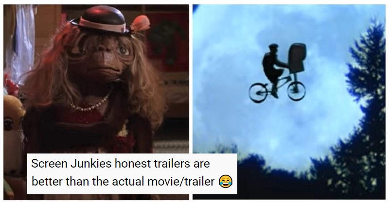 The Honest Trailer for E.T. tramples all over your childhood memories