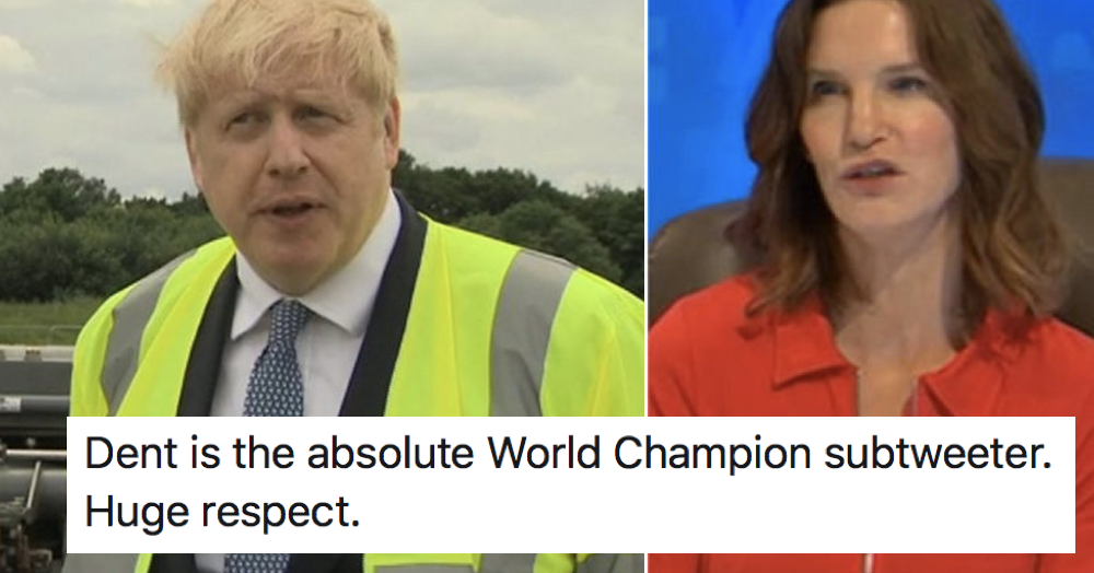 Boris Johnson blamed care home owners for coronavirus deaths and Susie Dent's tweet was 10/10