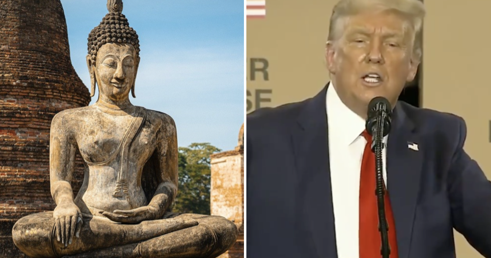 Donald Trump pronounced Thailand as 'Thigh-land' – 11 punniest responses - the poke