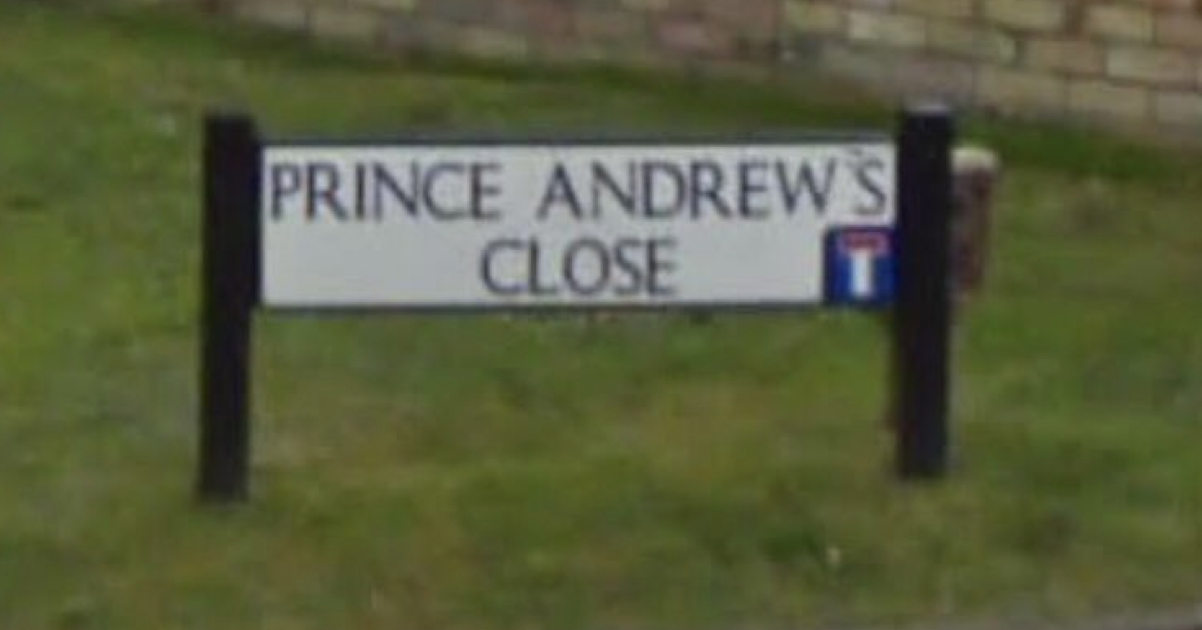 Unfortunate road name of the week - the poke