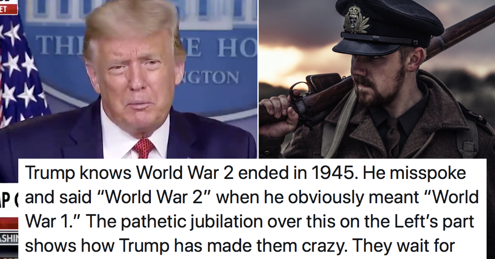 The 'Thighland' guy defended Donald Trump saying the '1917' pandemic ended WW2 – 5 historic owns - the poke