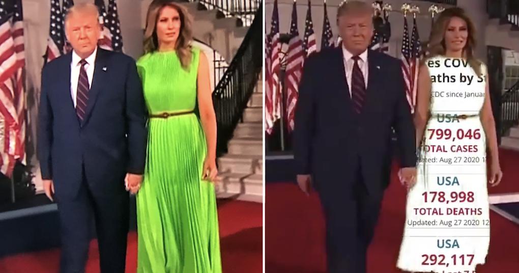 Melania Trump Today Outfit / Melania Trump asks to choose