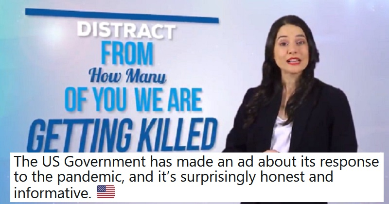 Honest Government Ad: A message from the White House (NSFW)
