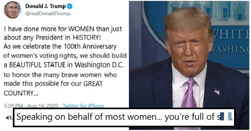 Trump claimed he's done more for women than any President in history - the only 5 scathing takedowns you need to read