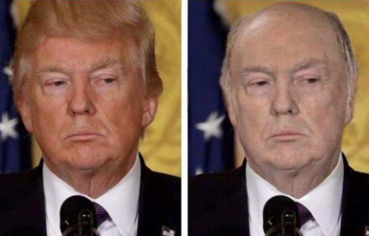This description of Trump without his fake tan or hair is just perfect