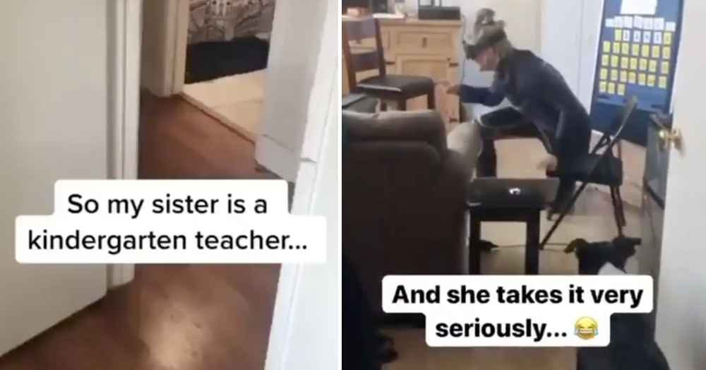 'My sister is a teacher and she takes it very seriously indeed'