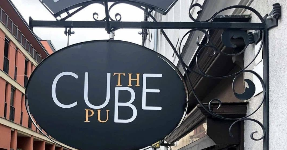They really didn't think through this pub sign's design - the poke