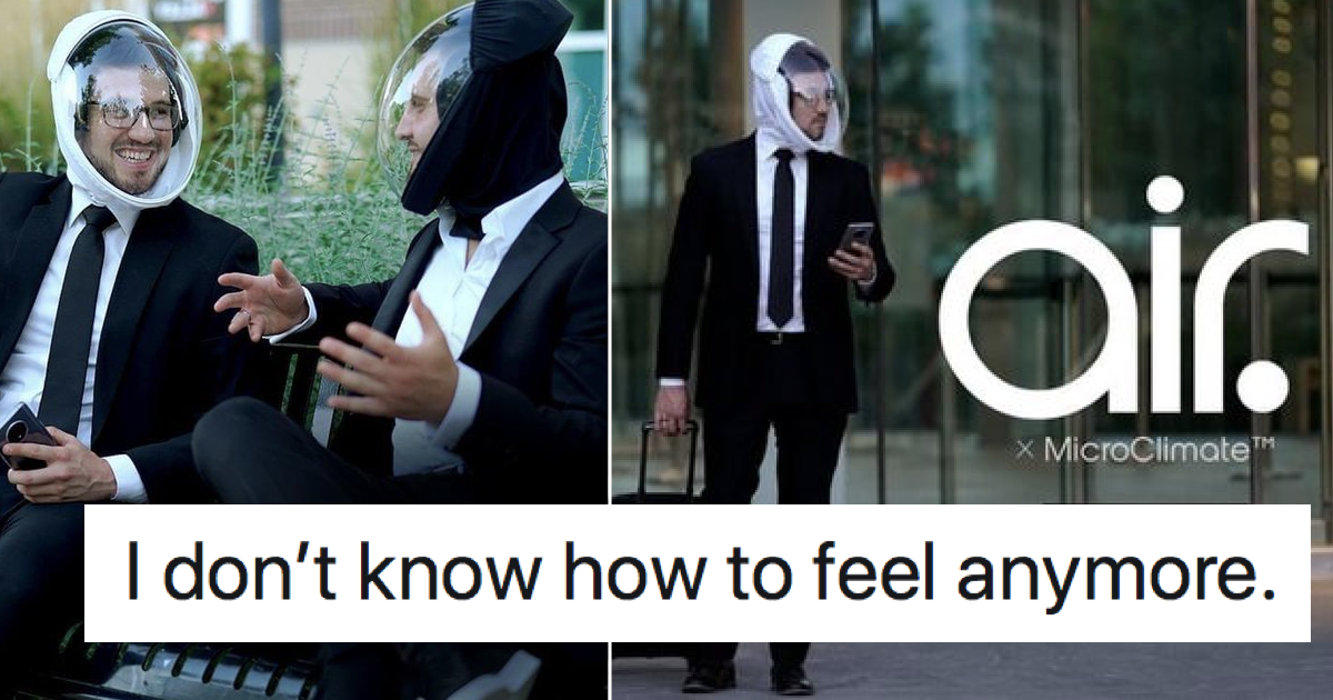These 'next level' face masks had the entire internet shaking its head - the poke