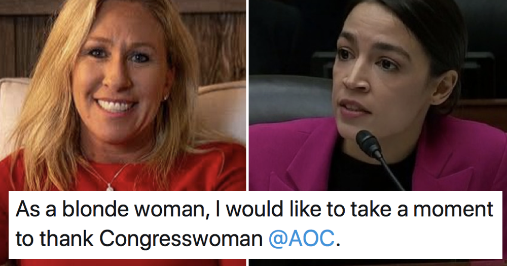 Alexandria Ocasio-Cortez's takedown of a Republican's 'dumb blonde' troll was simply perfect - the poke