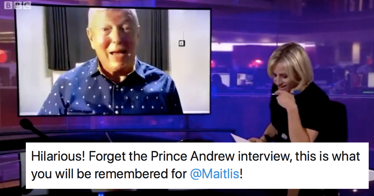 Emily Maitlis's unfortunate slip-up introducing Alan Johnson is our new favourite TV gaffe