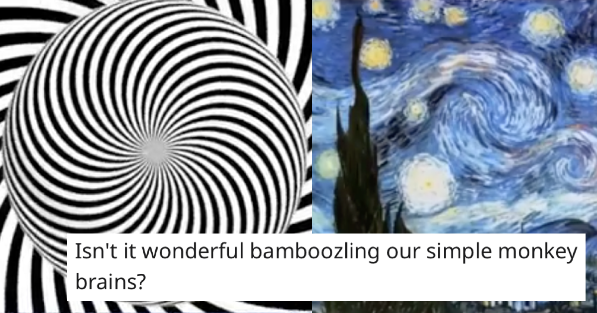 This 'better way' of seeing Van Gogh's 'The Starry Night' totally messes with your mind - the poke