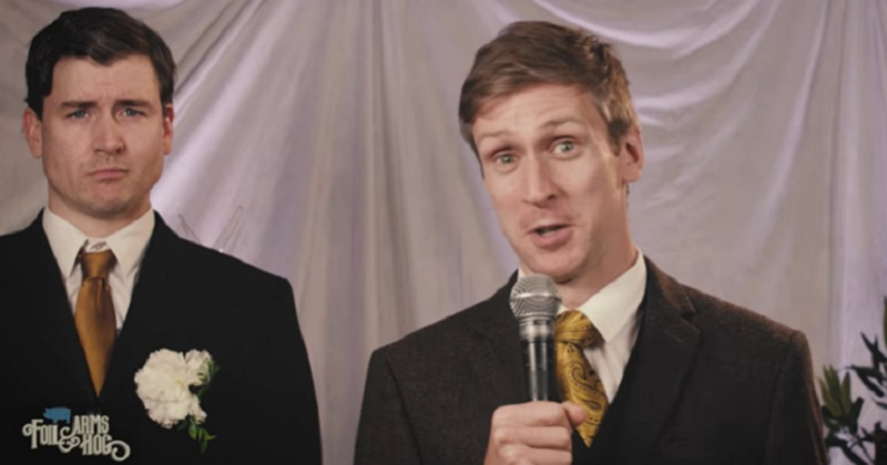 This hilarious comedy trio have imagined a Best Man's speech delivered by a newsreader? - the poke