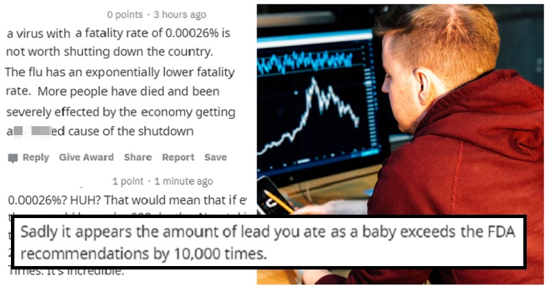 A covidiot tried to use statistics to make an outrageous claim – the takedown was incredibly satisfying