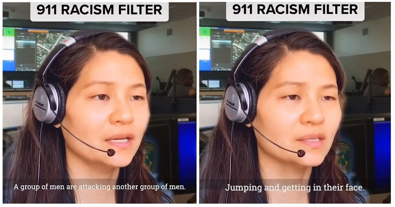 """911 Racism Filter"" is our TikTok of the Week - the poke"