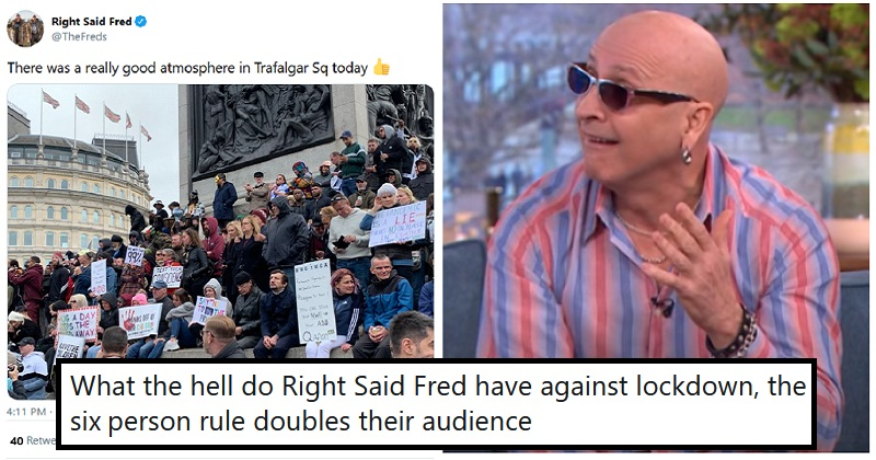 The only 5 takedowns you need of Right Said Fred's deeply dippy anti-mask stance - the poke