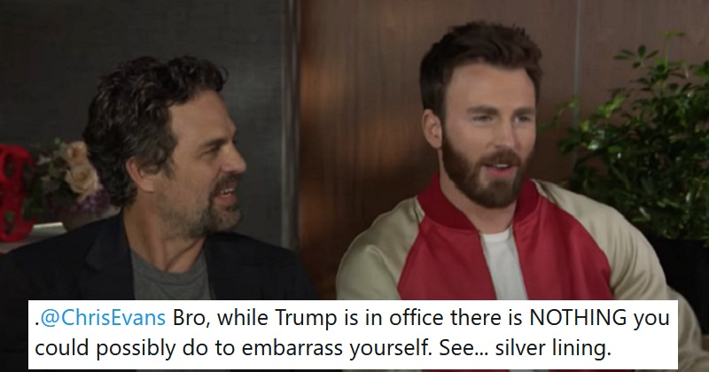Mark Ruffalo had the best response to Chris Evans' accidental NSFW post