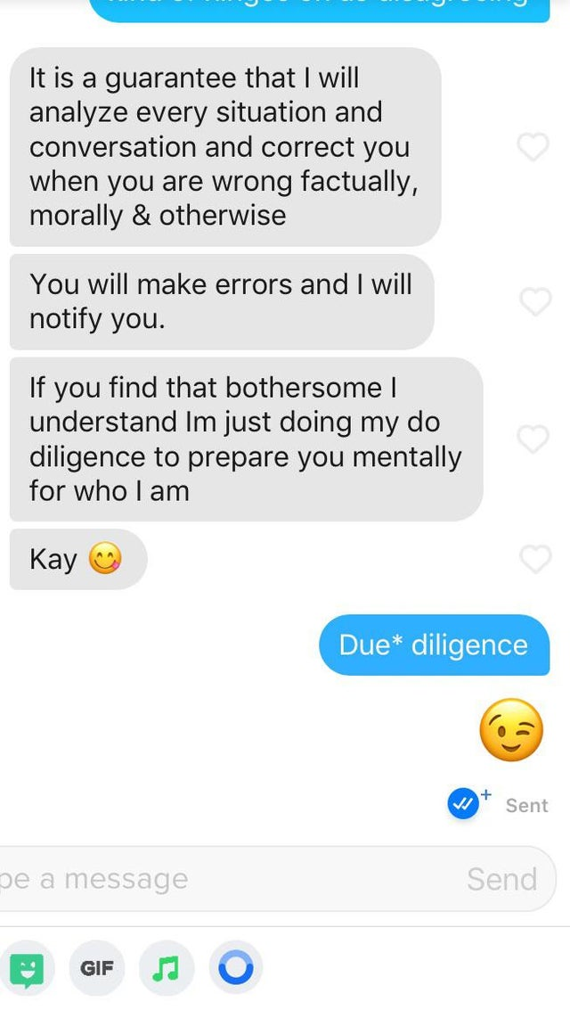 Tinder takedown of the week