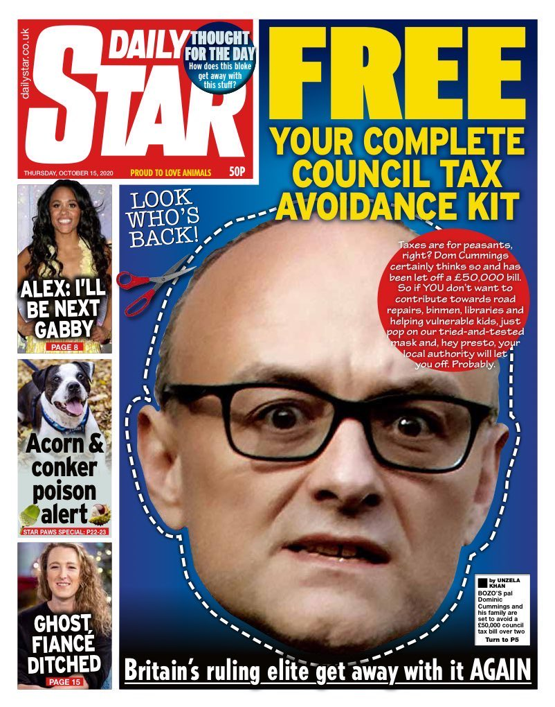 Daily Star Front Page 4th of August 2020 - Tomorrows